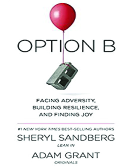 sheryl sandberg option B book cover